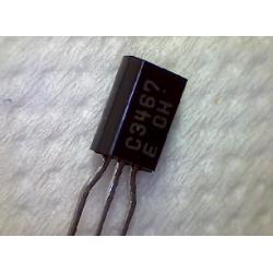 2SC3467  npn 200/200v 0,1a 1w  150MHz TO-92mod