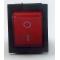 KCD4-202N, Переключатель с подсветкой, красный, OFF-ON, (16A 250VAC)