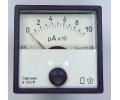 Амперметр 100мкА (40х40)