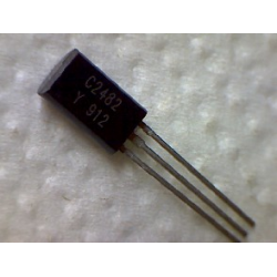 2SC2482  npn 300v 0,1a 0,9w 50MHz TO-92mod