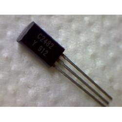 2SC2482  npn 300v 0,1a 0,9w 50MHz TO-92mod ECB (BCE)