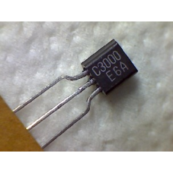 2SC3000  npn 30/20v 0,03a 0,25w  320MHz TO-92
