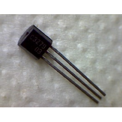 2SC3279  npn 30/30v 2a 0,75w 150MHz TO-92  ECB (BCE)
