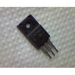 2SC4160  npn 500/400v 4a 25w 20MHz TO-220ML