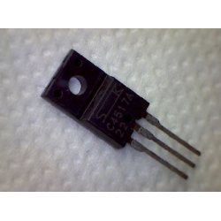 2SC4517A  npn 1000/550v 3a 30w 6MHz TO-220F