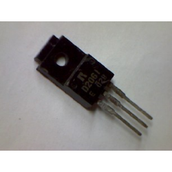 2SD2061  npn 80/60v 3a 30w 8MHz TO-220Fa