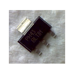 BLT81  NPN 20/9,5v 0,5a 2w 900MHz SOT-223