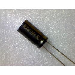 680mF 16v