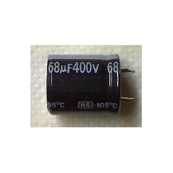 68mF 400v (22x25) электролитический конденсатор