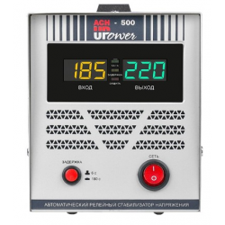 Однофазный стабилизатор напряжения UPOWER АСН 500 II поколение