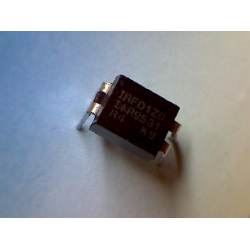 IRFD1Z0  N-channel+d 100v 0.5a HEXDIP (DIP-4)