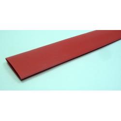 20 / 10 мм красная, 1м, термоусадочная трубка