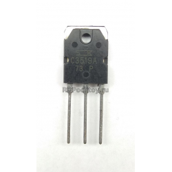 2SC3519A  npn 180V/180V 15А 130Вт 50MHz (TO-3P) BCE