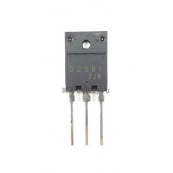 2SD2581  NPN 1500/800v 10a 70w TO-3PML