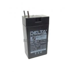 Аккумулятор Delta DT 401 4В, 1Ач
