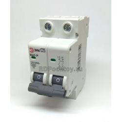 Авт.выкл. 2P 25A ЭРА BA47-29 автоматический выключатель