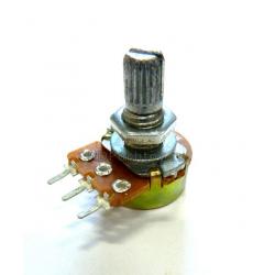 B1M 1МОм 3pin 15мм WH148 резистор переменный