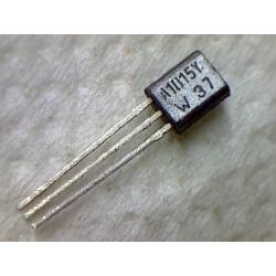 2SA1015Y  pnp 50v 0.15a 0.49w 80MHz TO-92 BCE