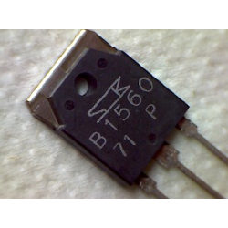 2SB1560  2pnp+r 160v 10a 100w 50MHz TO-3P