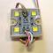 SMD 5054/4LED (белый холодный) 88Lm 35х35х5мм 1W 88Lm IP65 (пласт. корпус) 120° Светодиодный модуль