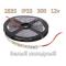 SMD 2835-300-12 IP33 420Lm 4.8W Белый холодный двухслойная Светодиодная лента