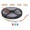 SMD 5050-150-12 IP33 390Lm RGB (двухслойная) Светодиодная лента