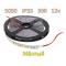 SMD 5050-300-12 IP33 780Lm Желтый (двухслойная) Светодиодная лента