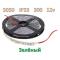 SMD 5050-300-12 IP33 780Lm Зеленый (двухслойная)  Светодиодная лента