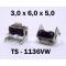 3.0x6.0x5.0 мм, TS-1136VW, тактовая кнопка