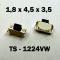 1.8x4.5x3.5 мм, TS-1224VW, тактовая кнопка