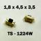 1.8x4.5x3.5 мм, TS-1224W, тактовая кнопка