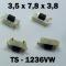 3.5x7.8x3.8 мм, TS-1236VW, тактовая кнопка