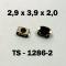 2.9x3.9x2.0 мм, TS-1286-2, тактовая кнопка