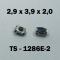 2.9x3.9x2.0 мм, TS-1286E-2, тактовая кнопка