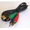 Кабель HDMI-3RCA (RGB) компонентный