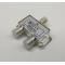 2ТВ, 5-1000МГц Разветвитель антенный Proconnect 05-6021 (сплиттер)