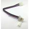 Коннектор с защёлками для RGB светодиодных лент PC-W-PC 10мм/4PIN (14 см)